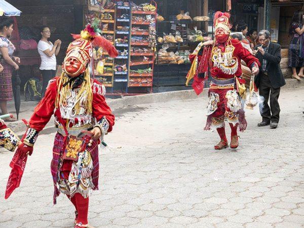 Bailes de máscaras Guatemala