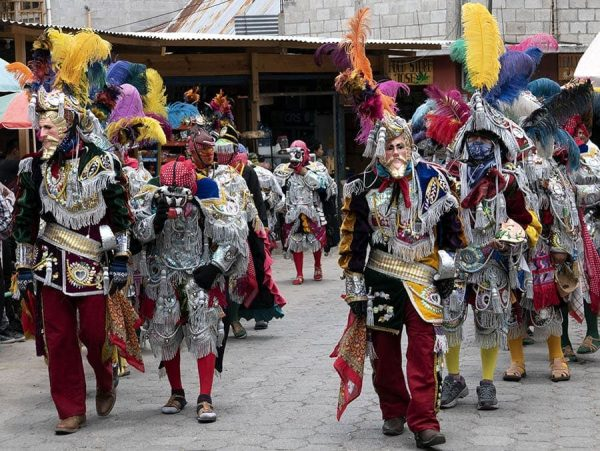 Bailes de máscaras Guatemala españoles