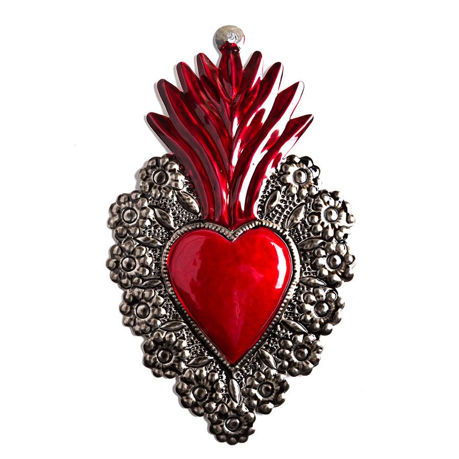 Corazón mexicano de hojalata