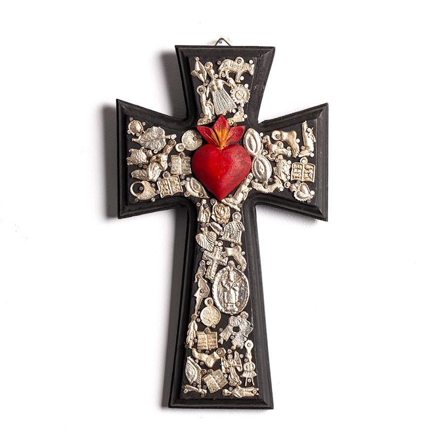 Cruz con Milagritos