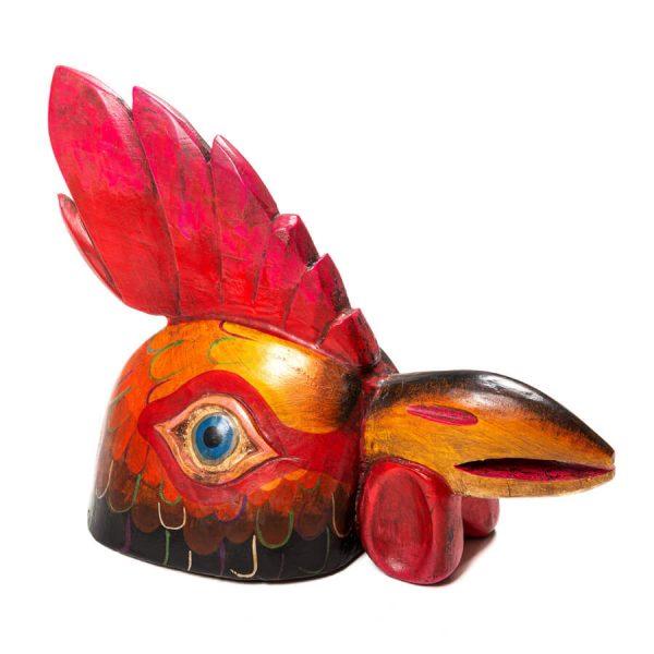 Máscara de Madera - Gallo 1