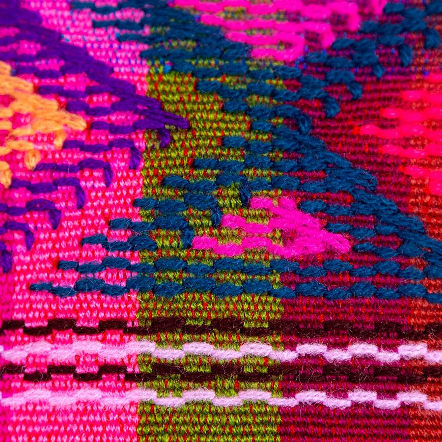 Cojines decorativos artesanales de algodón