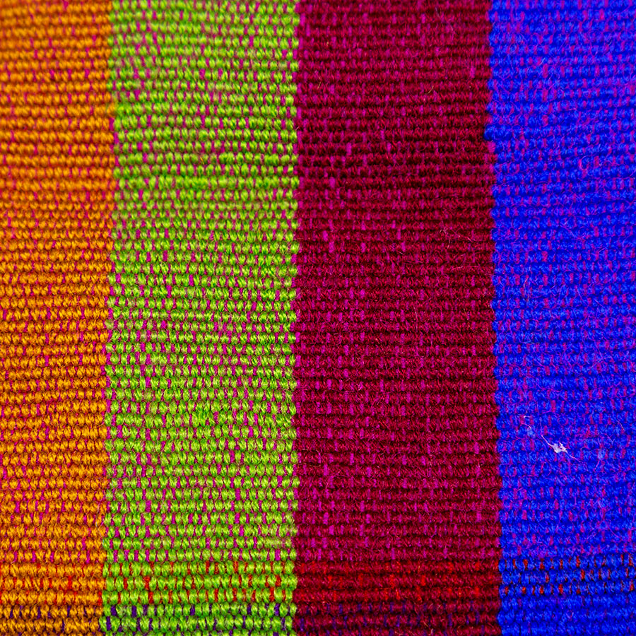 Cojines artesanales mexicanos de algodón